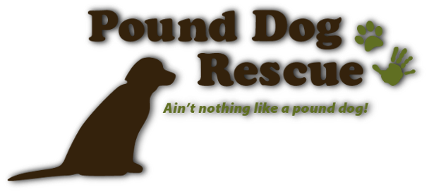Pound Dog Rescue logo